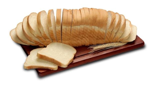 생각 잘라 슬라이스 절연 빵 덩어리