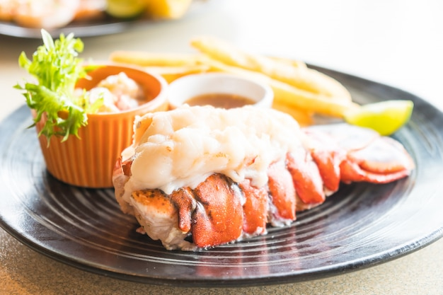 Lobster steak