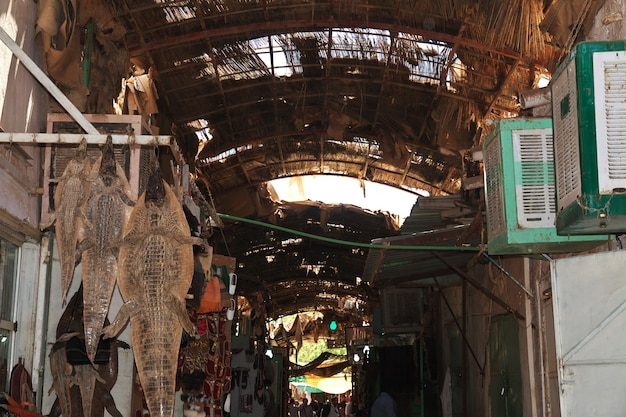 The local market in khartoum, sudan
