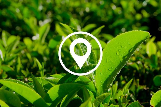 Концепция местоположения, навигации, места назначения, путешествия, позиции Бесплатные Фотографии