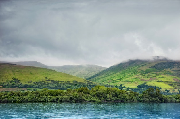 ローモンド湖、スコットランド