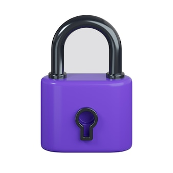 白で隔離の鍵穴アイコンでロック