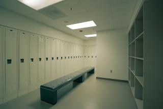 Locker room  locker