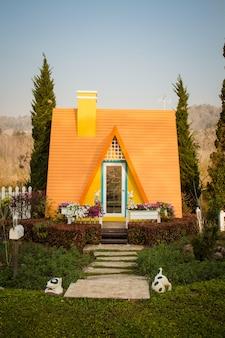 Lodge resort in thailand.