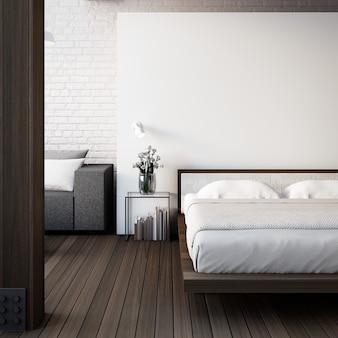 The loft & modern bedroom
