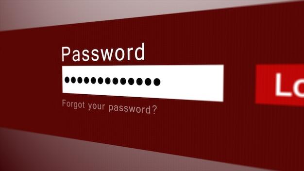 사용자 이름 및 비밀번호 필드를 사용하여 로그인 또는 로그인 양식
