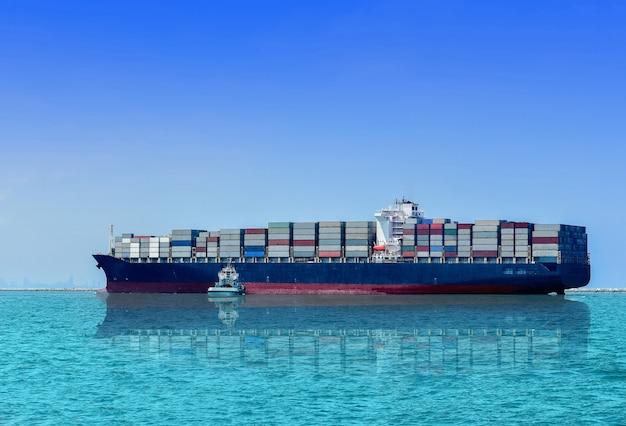 Логистика и перевозка международного грузового судна