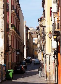 Logronoの通り。ラ・リオハ