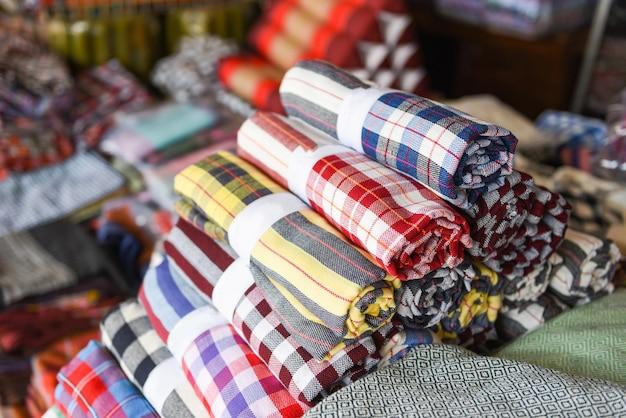 Набедренная повязка традиционная из тайского шелка