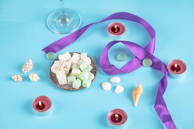 Лукум и конфеты