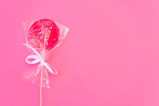 ロリポップ色のキャンディー