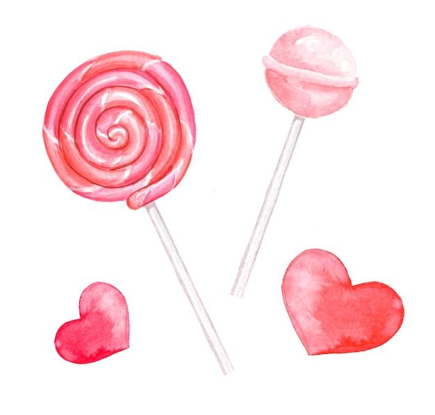 Lollipop spiral. sweet candy. lollipop snail. chupa chups. decorative element.