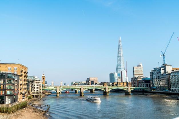 テムズ川のあるロンドンシティ