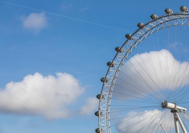 London eye travel destination at london united kingdom