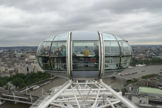 The london eye, wheel