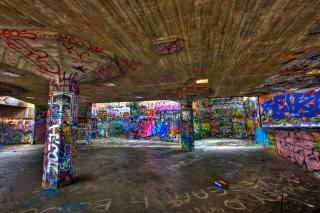 London graffiti   hdr