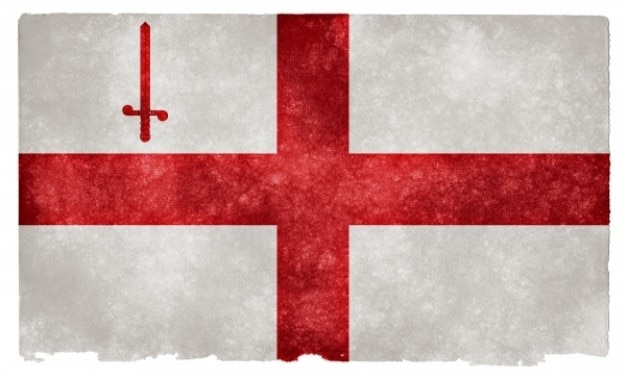Лондон гранж флаг