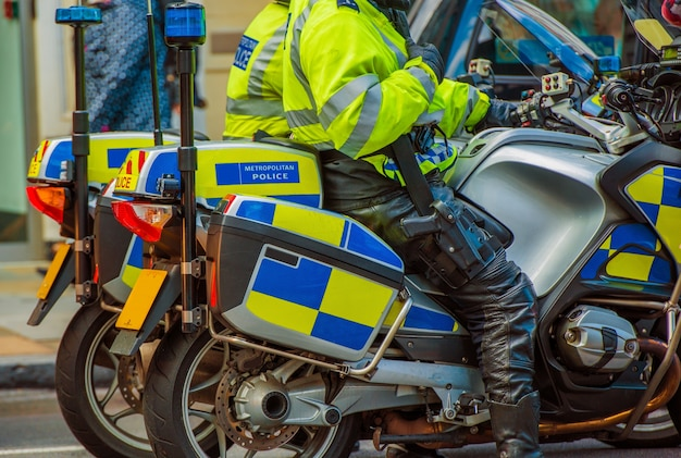 London motorcycle police