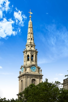 London trafalgar square st martin church