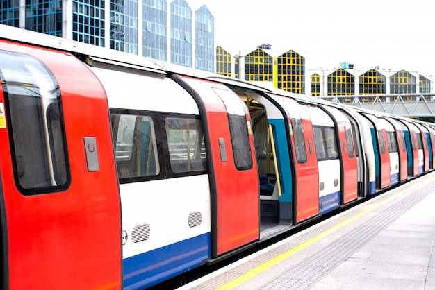 Станция лондонского метро