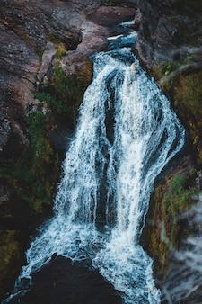 水の長時間露光撮影体
