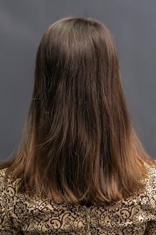 Long hair of woman.