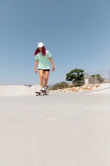 ボード付きロングショットスケーター