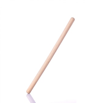 Long white wooden stick use for bakery.