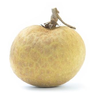 背景にリュウガン。新鮮なリュウガンのタイの果物。 Premium写真