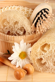 Loofah and bath products