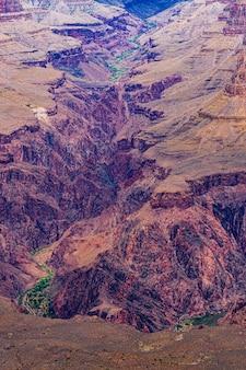 Guardando dall'alto in basso il phantom ranch