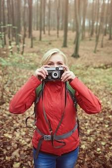 写真を撮る何かを探しています