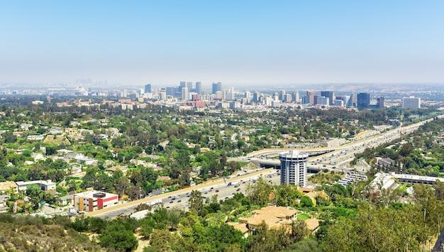 Городской пейзаж лос-анджелеса