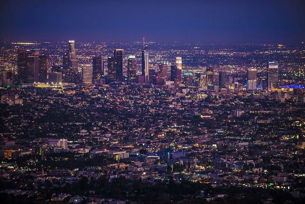 ロサンゼルスの街並み