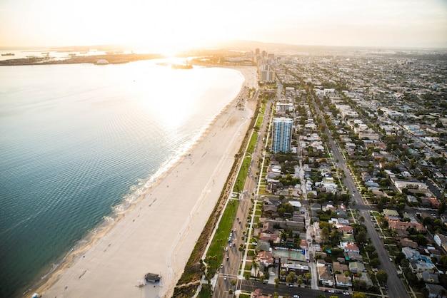 ロサンゼルスの海岸線