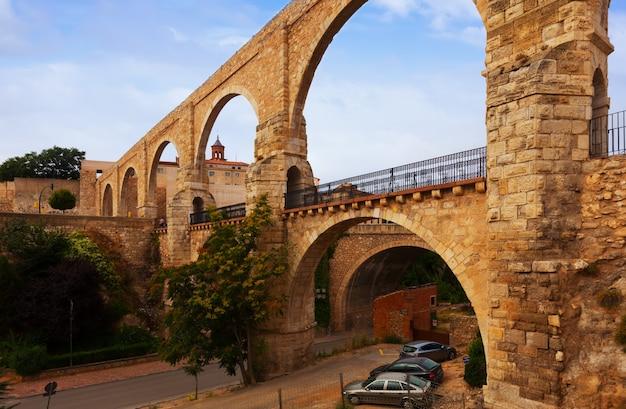 Los arcos aqueduct. teruel