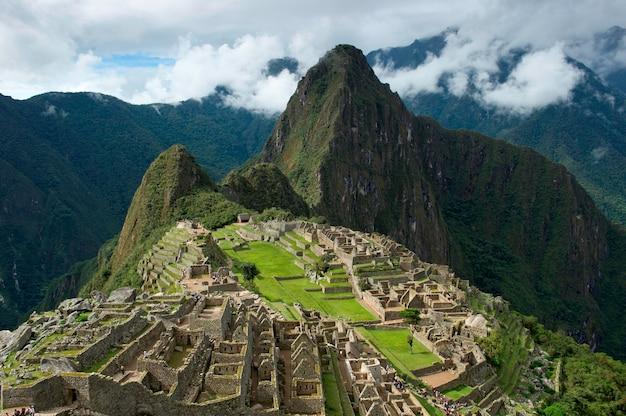 The lost city of the incas, machu picchu, cusco region, peru