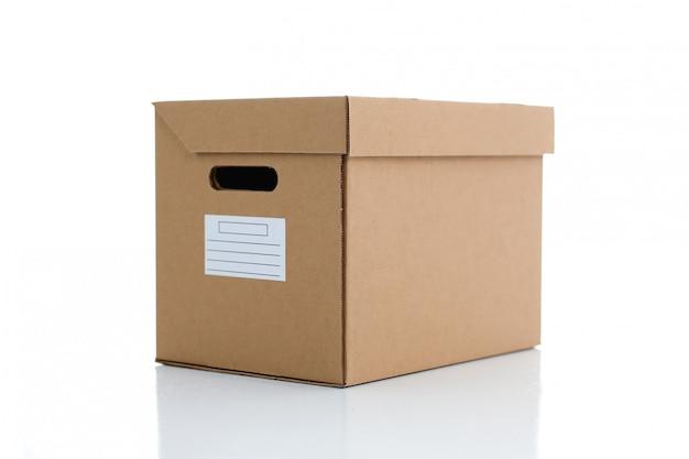A lot carton box kraft color.