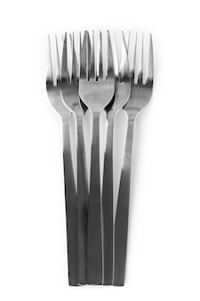 A lot of forks on the table