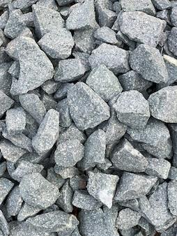 背景のテクスチャとしてたくさんの石