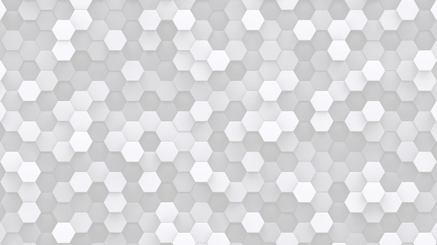 Lots of hexagonal white cells. abstract low contrast backdrop