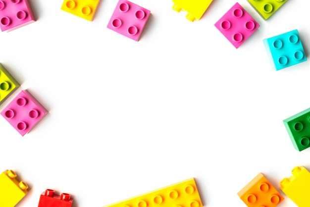 Lots of toy bricks