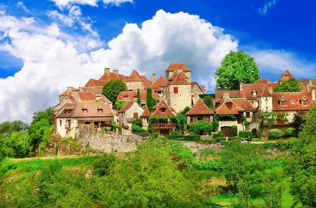 Лубрессак, самые живописные деревни франции, регион лот