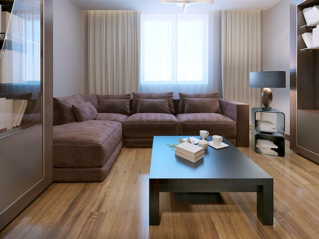 Lounge contemporary style design