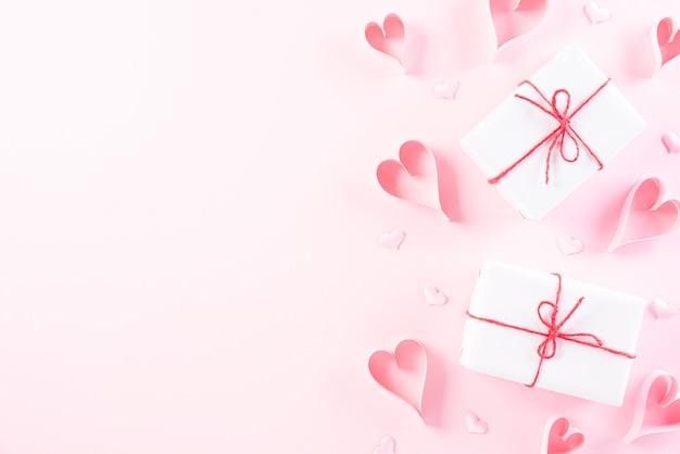愛とバレンタインデーのコンセプト。