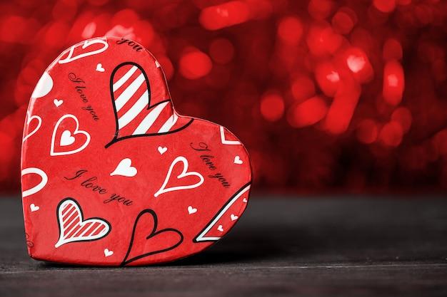 어머니의 날과 발렌타인 데이에 대한 사랑 개념. 애인. 사랑.
