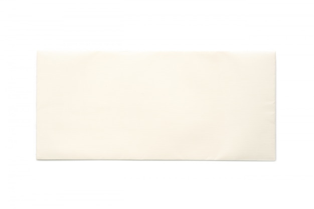 Love letter isolated on white background. wedding card.