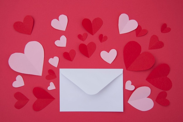 연애 편지-성 발렌타인 개념