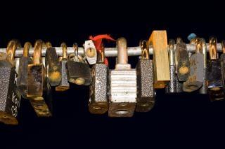 Love locks, lock