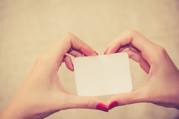 Love message on white